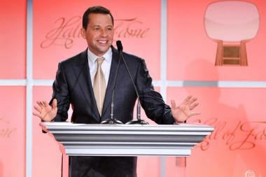 Jon Cryer onstage at the 21st Annual Hall of Fame Gala