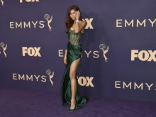 Zendaya on the red carpet at the 71st Emmy Awards.