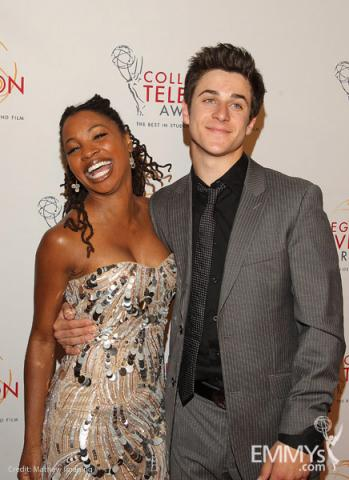 Shanola Hampton & David Henrie at the 32nd College Television Awards