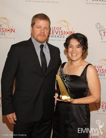 Michael Cudlitz & Clare Major at the 32nd College Television Awards