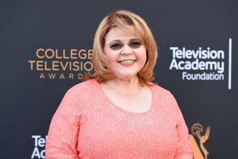 Television Academy governor Patrika Darbo arrives at the 38th College Television Awards presented by the Television Academy Foundation at the Saban Media Center on Wednesday, May 24, 2017, in the NoHo Arts District in Los Angeles.
