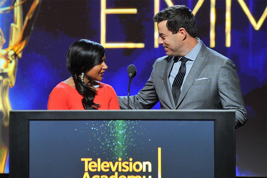 Mindy Kaling, Carson Daly