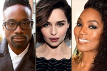 Billy Porter, Emilia Clarke, and Angela Bassett