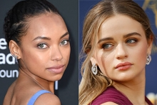 Logan Browning and Joey King