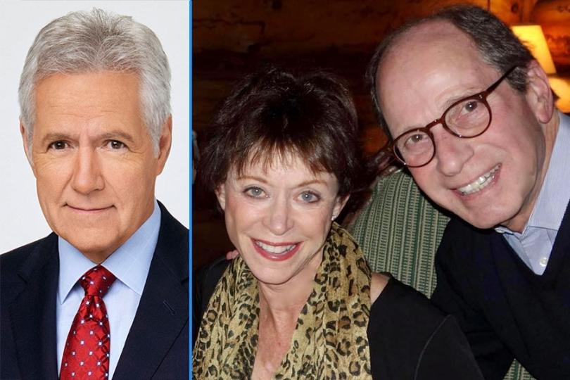 Alex Trebek; Judy and Harry Friedman