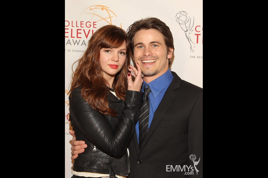 Amber Tamblyn & Jason Ritter at the 32nd College Television Awards