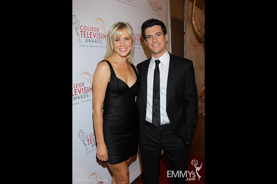 Jessy Schram & Drew Roy at the 32nd College Television Awards