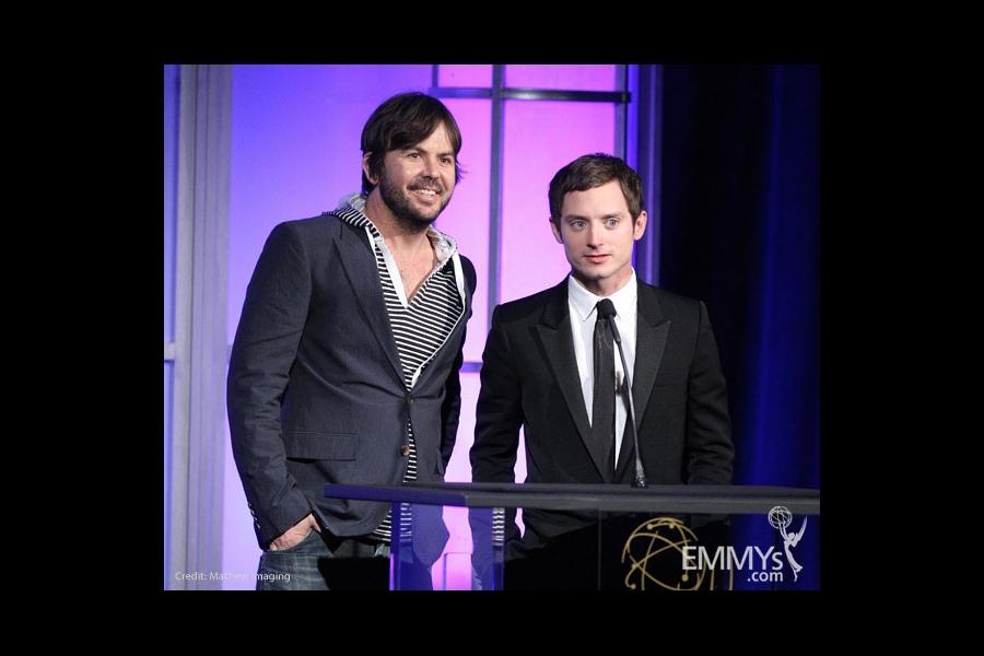 Jason Gann & Elijah Wood at the 32nd College Television Awards