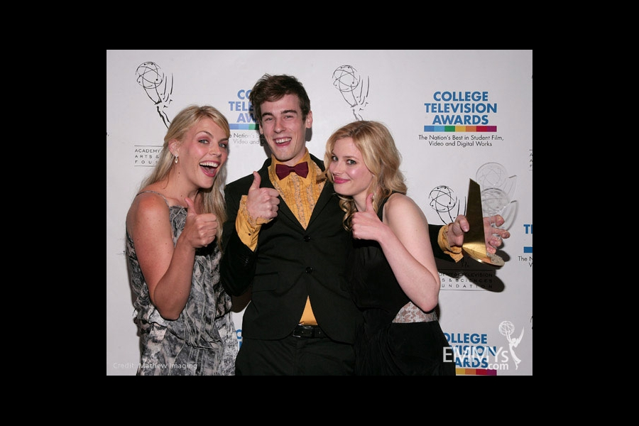 Busy Philips, Ross Bollinger & Gillian Jacobs at the 31st College Television Awards
