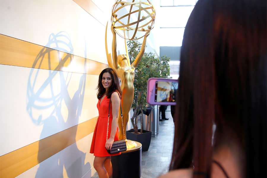 Neda Davarpanah at the 37th College Television Awards at the Skirball Cultural Center on Wednesday, May 25, 2016, in Los Angeles.