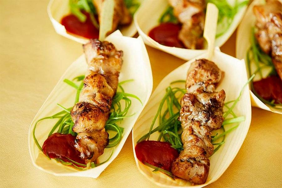 Filipino BBQ Chicken Skewers