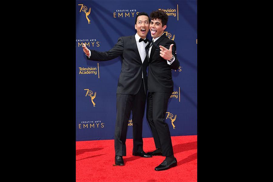 Eddie Shin and Emery Kelly