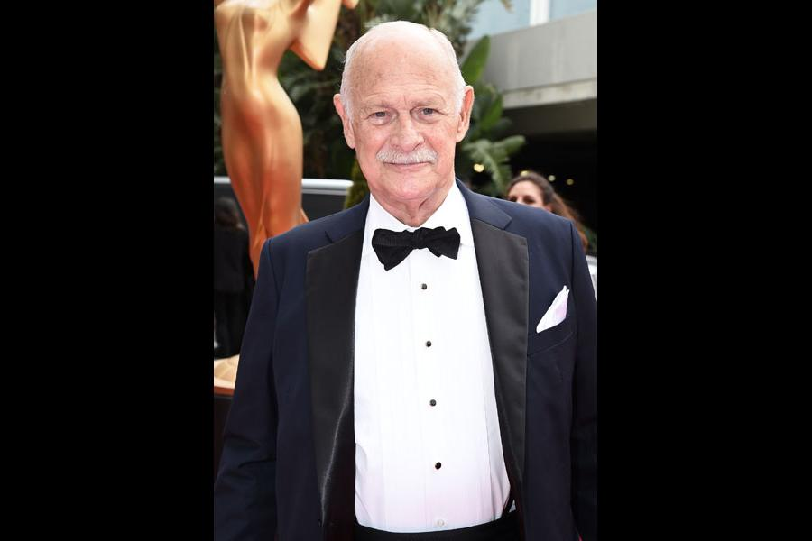 Gerald McRaney on the red carpet at the 2017 Primetime Emmys.