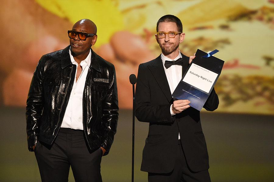Dave Chappelle and Neal Brennan