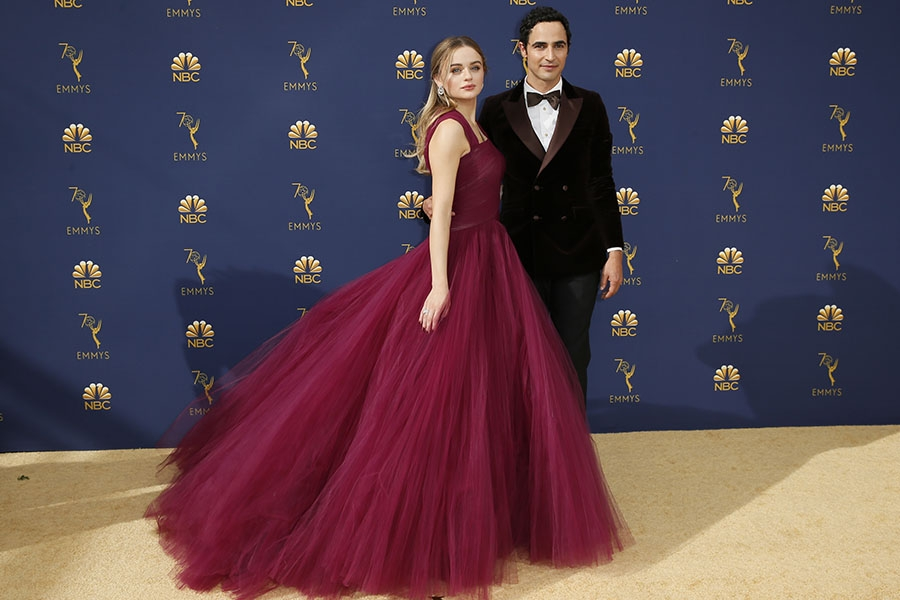 Joey King and Zac Posen
