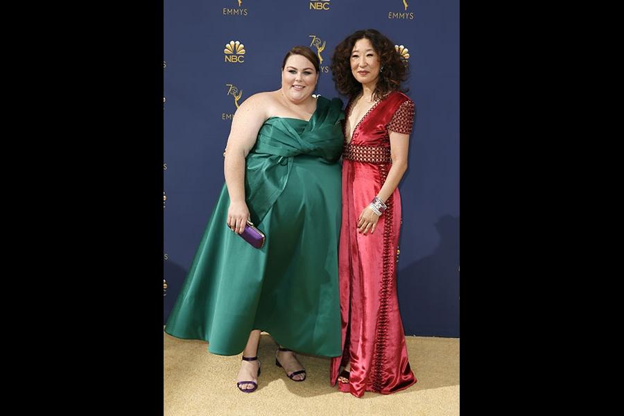 Chrissy Metz and Sandra Oh
