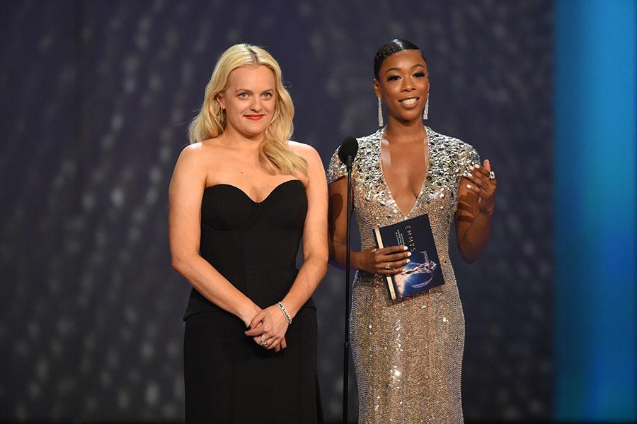 Elisabeth Moss and Samira Wiley