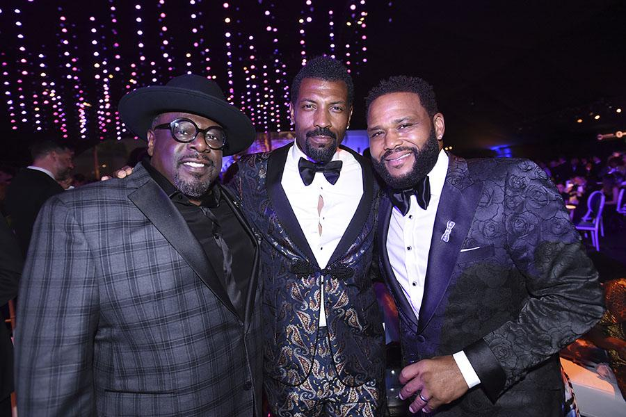 Cedric the Entertainer, Deon Cole and Anthony Anderson