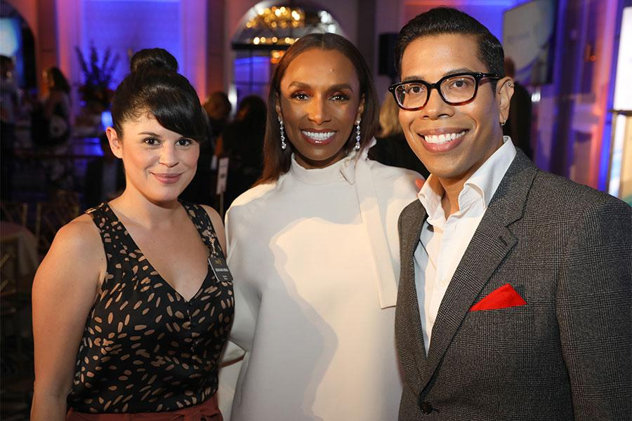 Judalina Neira, Janet Mock, Steve Canals, 12th Television Academy Honors