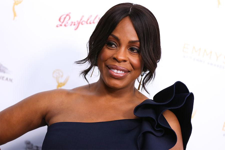 Niecy Nash arrives at the Performers Peer Group Celebration August 24 at the Montage in Beverly Hills, California.