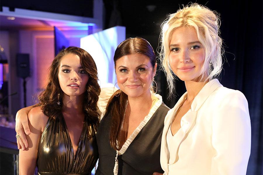 Paris Berelc, Tiffani Thiessen, Isabel May, 12th Television Academy Honors