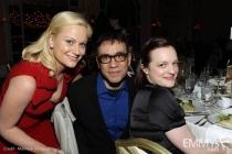Amy Poehler, Fred Armisen and Elisabeth Moss.