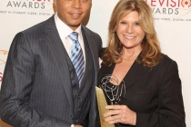 Terrence Howard & Lisa Paulsen at the 32nd College Television Awards