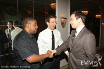 Kenan Thompson, Seth Meyers & Jimmy Fallon at An Evening With Saturday Night Live
