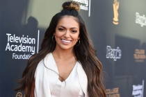 Bethany Mota arrives at the 38th College Television Awards presented by the Television Academy Foundation at the Saban Media Center on Wednesday, May 24, 2017, in the NoHo Arts District in Los Angeles.