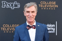 Bill Nye arrives at the 38th College Television Awards presented by the Television Academy Foundation at the Saban Media Center on Wednesday, May 24, 2017, in the NoHo Arts District in Los Angeles.