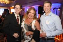 Bob Bronow, Lynn Thomas, Roy Samuelson, 12th Annual Television Academy Honors