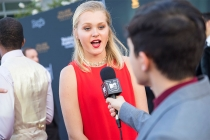 Erika Olsted is interviewed at the 38th College Television Awards presented by the Television Academy Foundation at the Saban Media Center on Wednesday, May 24, 2017, in the NoHo Arts District in Los Angeles.