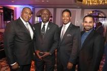 Christopher O'Neal, Benjamin Crump, Cliff Jones, Farhoud Meybodi, 12th Annual Television Academy Honors