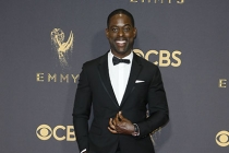 Sterling K. Brown on the red carpet at the 69th Primetime Emmy Awards