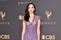 Ruby Modine on the red carpet at the 2017 Primetime Emmys.