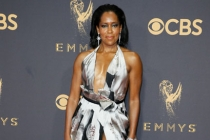 Regina King on the red carpet at the 69th Primetime Emmy Awards