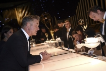 Alec Baldwin at the 69th Emmy Awards Governors Ball.