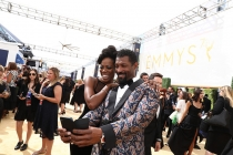 Yvonne Orji and Deon Cole