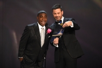 Tracy Morgan and Jimmy Kimmel
