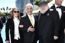 Stacey Weitzman, Henry Winkler and George R. R. Martin