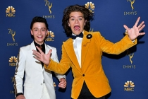 Noah Schnapp and Gaten Matarazzo