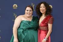 Chrissy Metz and Sandra Oh
