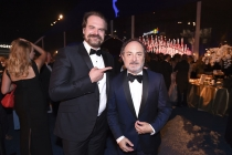 David Harbour and Kevin Pollak