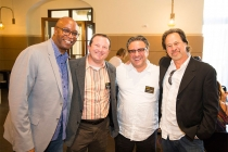 Daryll Merchant, Brian O'Rourke, Frank Scherma and Dan Bootzin at the Commercials Nominee Reception at the Montage Beverly Hills.