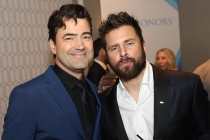 Ron Livingston, James Roday, 12th Television Academy Honors
