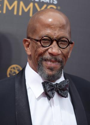 Reg E. Cathey on the red carpet at the 2016 Creative Arts Emmys.